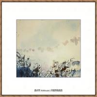 赵无极抽象油画作品集 (12)