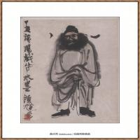 李可染-1983水墨钟馗