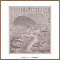 李可染-1985杏花春雨江南