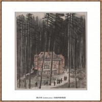 李可染-德国森林