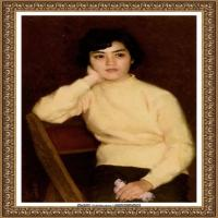 靳尚谊油画作品 (35)