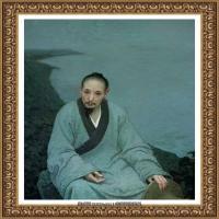 靳尚谊油画作品 (10)
