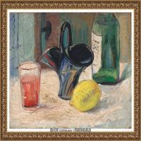 潘玉良-红酒与柠檬