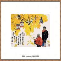 当代画家马海方绘画作品 (78)