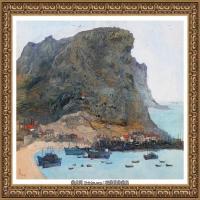 吳冠中經典油畫作品圖片 (41)