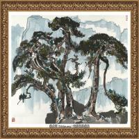 吳冠中經典油畫作品圖片 (12)