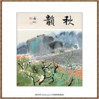 吴冠中抽象画作品图片 (64)