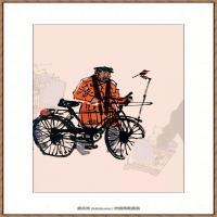 当代画家马海方绘画作品 (120)