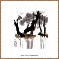 吴冠中抽象画作品图片 (10)
