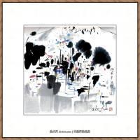 吴冠中抽象画作品图片 (31)