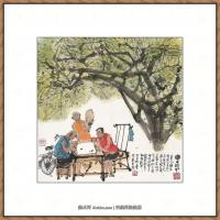 当代画家马海方绘画作品 (3)