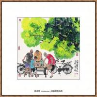 当代画家马海方绘画作品 (86)