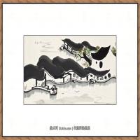 吴冠中抽象画作品图片 (61)