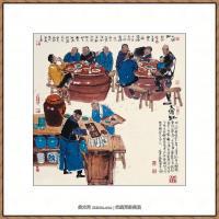 当代画家马海方绘画作品 (54)