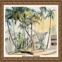 吳冠中經典油畫作品圖片 (52)