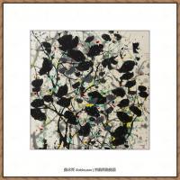 吴冠中抽象画作品图片 (60)