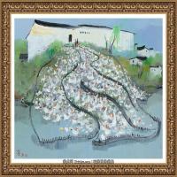 吳冠中經典油畫作品圖片 (36)
