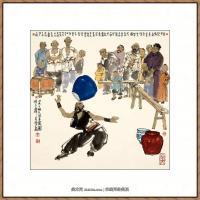 当代画家马海方绘画作品 (108)