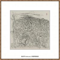 吴冠中抽象画作品图片 (33)