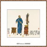 当代画家马海方绘画作品 (18)