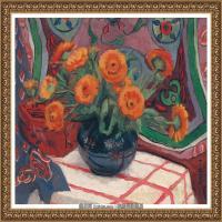 潘玉良-怒放的太阳花