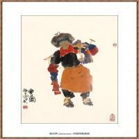 当代画家马海方绘画作品 (38)