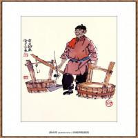 当代画家马海方绘画作品 (23)