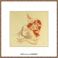 著名秘鲁插画家 Alberto Vargas美女作品 (12)