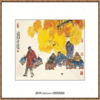 当代画家马海方绘画作品 (34)