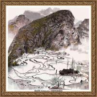 吳冠中經典油畫作品圖片 (51)