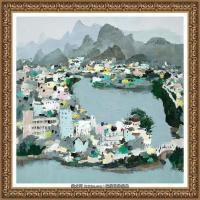 吳冠中經典油畫作品圖片 (43)