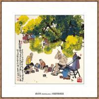 当代画家马海方绘画作品 (35)