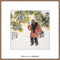 当代画家马海方绘画作品 (88)