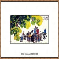 当代画家马海方绘画作品 (79)