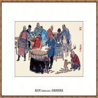 当代画家马海方绘画作品 (73)