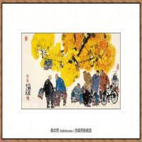 当代画家马海方绘画作品 (107)