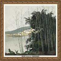 吳冠中經典油畫作品圖片 (20)