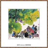 当代画家马海方绘画作品 (81)
