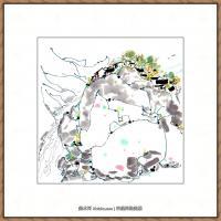 吴冠中抽象画作品图片 (14)