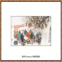 当代画家马海方绘画作品 (77)
