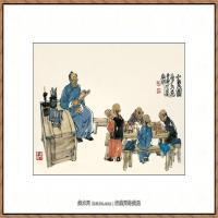 当代画家马海方绘画作品 (20)