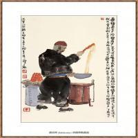 当代画家马海方绘画作品 (46)