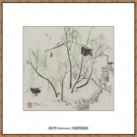 吴冠中抽象画作品图片 (5)