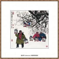 当代画家马海方绘画作品 (85)