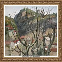吳冠中經典油畫作品圖片 (17)