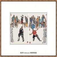 当代画家马海方绘画作品 (92)