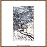 齐白石-柳树图