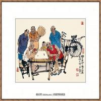 当代画家马海方绘画作品 (74)