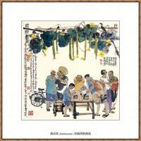 当代画家马海方绘画作品 (21)