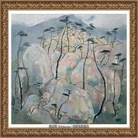 吳冠中經典油畫作品圖片 (55)